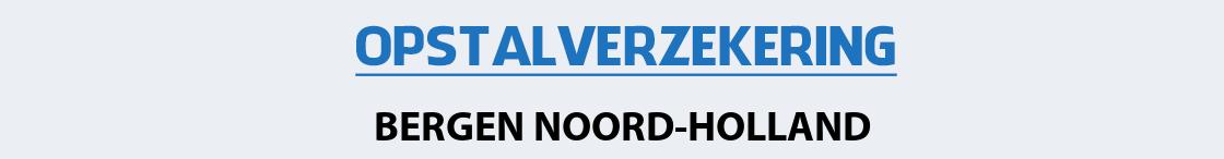 opstalverzekering-bergen-noord-holland