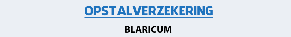 opstalverzekering-blaricum