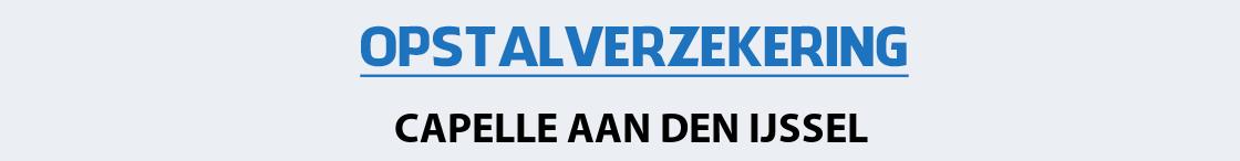 opstalverzekering-capelle-aan-den-ijssel