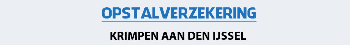 opstalverzekering-krimpen-aan-den-ijssel